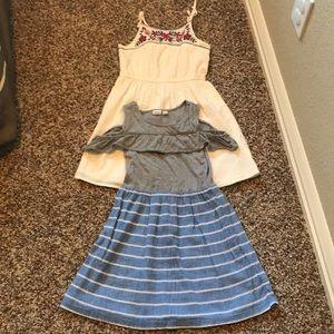 2 super cute Gap summer dresses!